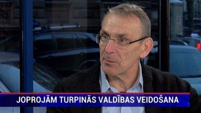 """Piebalgs: """"Latvijas politiskā skatuve ir sadrumstalota."""""""