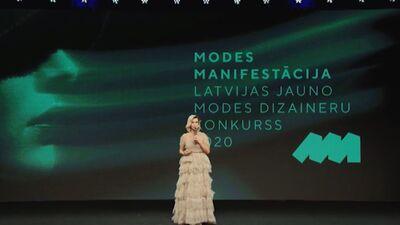 Jauno modes dizaineru konkurss 2020 1. daļa