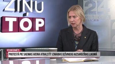 Baumane: Vēlamies panākt, lai Latvijā vairs netiek nogalināti zvēri kažokādu dēļ