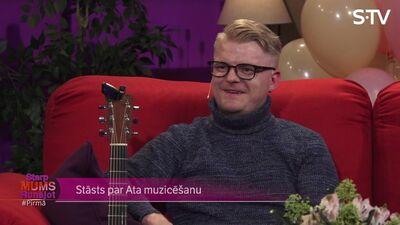 Mūziķis Atis Ieviņš: Es ļoti cienu instrumentu!