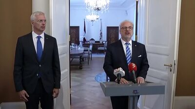 Speciālizlaidums: Valsts prezidenta un Ministru prezidenta kopīgais paziņojums medijiem