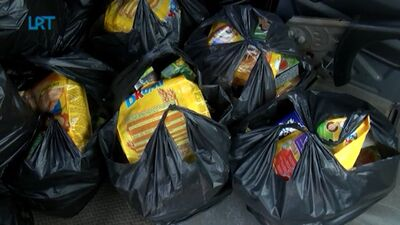 Rēzeknes novada bērni saņem pārtikas pakas