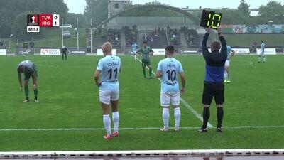 Atbildīgas spēles Latvijas kauss futbolā. Astotdaļfināls: FK Tukums 2000/TSS - Riga FC.