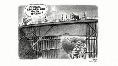 Karikatūru apskats: Rīgas gājēju tilti