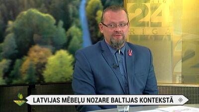 Latvijas mēbeļu nozare Baltijas kontekstā