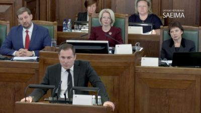 Speciālizlaidums: Saeimas sēde par uzticības izteikšanu Kariņa valdībai 3. daļa
