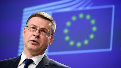 Kalniete: Nav šaubu, ka Dombrovskis kļūs par EK tirdzniecības komisāru