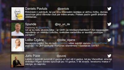 Tvitersāga: Situācija Rīgas domē