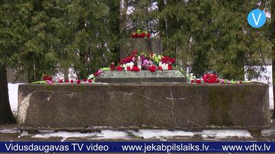 Jēkabpilī nozagts vēsturiskā Krustpils parka lielgabals