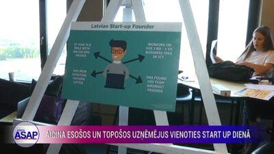 Aicina esošos un topošos uzņēmējus vienoties Start Up dienā