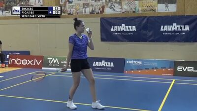 Latvijas čempionāts (A līga) badmintonā vīriešu un sieviešu komandām