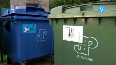 Atkritumu šķirošanai – zema aktivitāte
