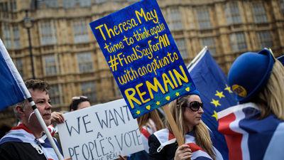 """Bijusī Lielbritānijas ministre aicina rīkot vēl vienu """"Breksita"""" referendumu"""