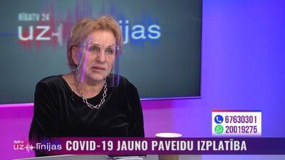 Infektoloģe Ludmila Vīksna par blaknēm pēc vakcinācijas pret Covid-19