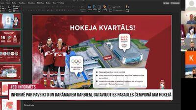 Speciālizlaidums: Informē par paveikto un darāmajiem darbiem, gatavojoties PČ hokejā