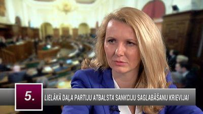 Lībiņa-Egnere: Neko neiegūsim, ja samazināsim sankcijas pret Krieviju