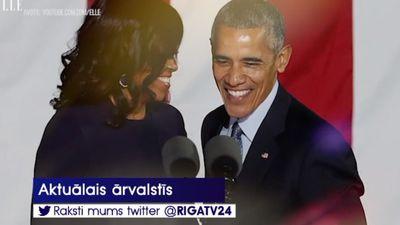 Obamas atzīti par šī gada aprīnotākajiem cilvēkiem ASV