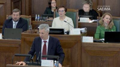 Speciālizlaidums: Ikgadējās ārlietu debates Saeimā 3. daļa