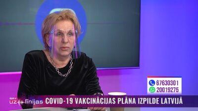 Vīksna: Pēc primās vakcīnas devas saņemšanas pret Covid-19 tāpat ir jābūt uzmanīgiem