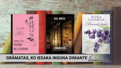 Grāmatas, ko iesaka Inguna Dimante