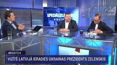 Speciālizlaidums: Ukrainas un Latvijas prezidentu preses konference 2. daļa
