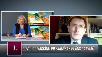 Tālis Linkaits par Covid-19 vakcīnu pieejamības plānu Latvijā