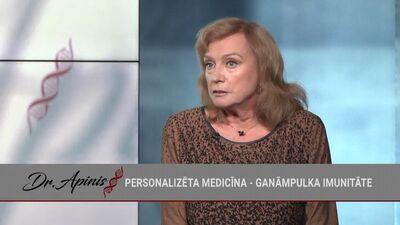 Gunta Vīlere stāsta, kādi medikamenti var palīdzēt Covid-19 saslimšanas gadījumā