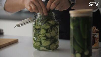 3 receptes kā pagatavot gurķus