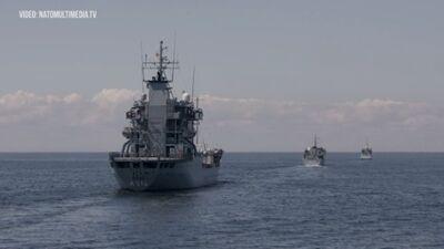 """Baltijas jūrā norisinājās Starptautiskās militārās mācības """"Baltops 2020"""""""