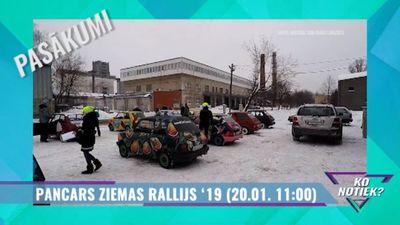 Ieskaties: Pancars ziemas rallijs `19