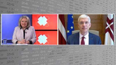 """Kariņš: """"Zaļo pasu"""" ieviešana būs neizbēgama ne vien Latvijā, bet arī visā pasaulē"""