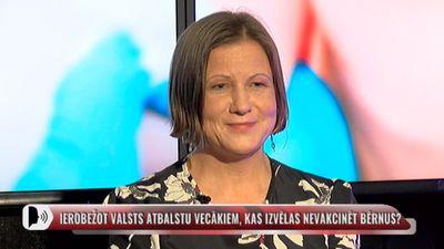 Olsena par bērnu vakcināciju: Jāapkaro mīti un jāveido izpratne par vakcīnām