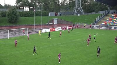 Liepāja - Spartaks Optibet futbola Virslīga. Spēles ieraksts