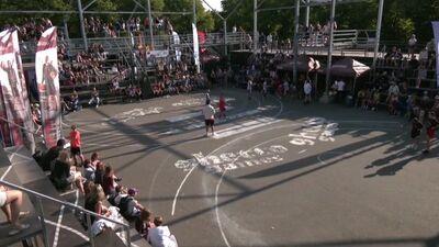 Atbalstītāji Grīziņkalnā sveic Olimpiskos čempionos 3x3 basketbolā
