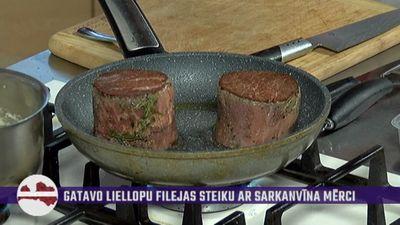 Šefpavārs stāsta par dažādiem gaļas veidiem