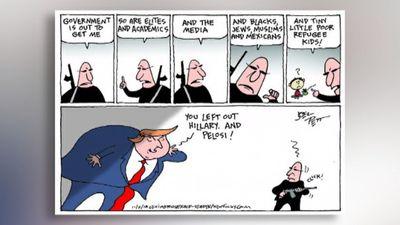 Aplūko: Amerikas politiskā dzīve karikatūrās