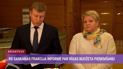 """Speciālizlaidums: RD """"Saskaņas"""" frakcija informē par Rīgas budžeta pieņemšanu"""