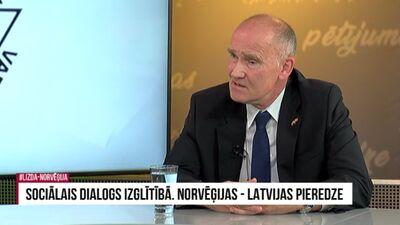 Ēdegoors: Norvēģijā nav minimālās algas, bet ir likums, kas nosaka minimālos standartus