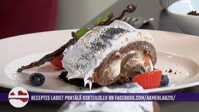 """Pavārs no Ilūkstes dažās sekundēs rada šokolādes """"koku""""!"""