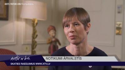 Igaunijas prezidente atklāj, ko vēlas apspriest ar Putinu
