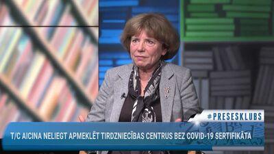 T/C aicina neliegt apmeklēt tirdzniecības centrus bez Covid-19 sertifikāta