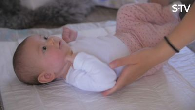 Kāds ir pirmais mēnesis ar bērniņu?