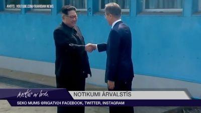 Ziemeļkoreja un Dienvidkoreja atjaunos ceļu un dzelzceļa savienojumus