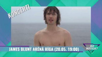 20.05.2018 James Blunt koncerts Arēnā Rīga