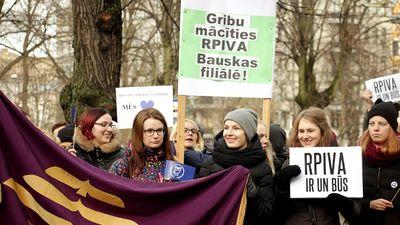 Baiba Broka par gadu pēc RPIVA pievienošanas Latvijas Universitātei
