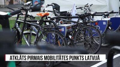 Atklāts pirmais mobilitātes punkts Latvijā