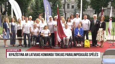 Speciālizlaidums: Iepazīstina ar Latvijas komandu Tokijas paralimpiskajās spēlēs