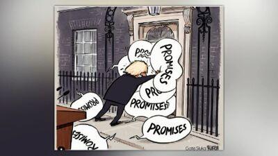 Karikatūru apskats: Džonsona solījumi