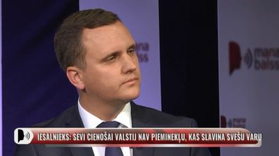 Beķeris: Neaizmirsīsim spoguļa principu - mums ir arī piemiņas vietas Krievijā