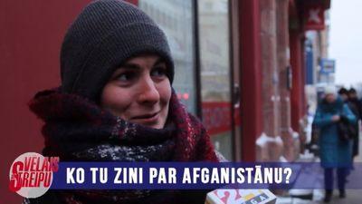 Iedzīvotāji par Afganistānu